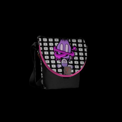 New -TONGUE TIED TIM- Messenger Bag!